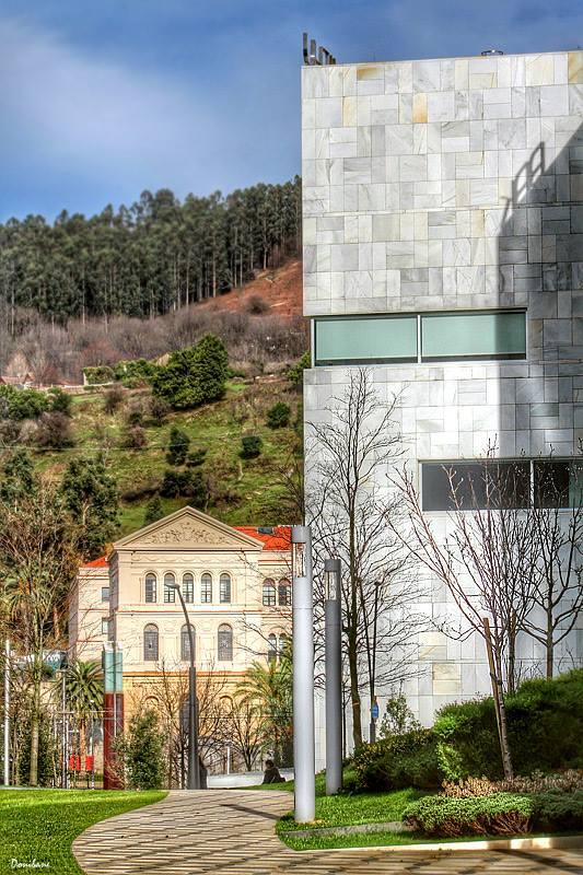 Paseo de Abandoibarra en Bilbao, por Donibane