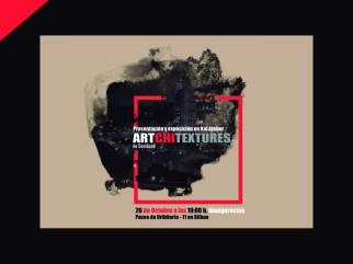 Carátula exposición ARTCHITEXTURES por Donibane