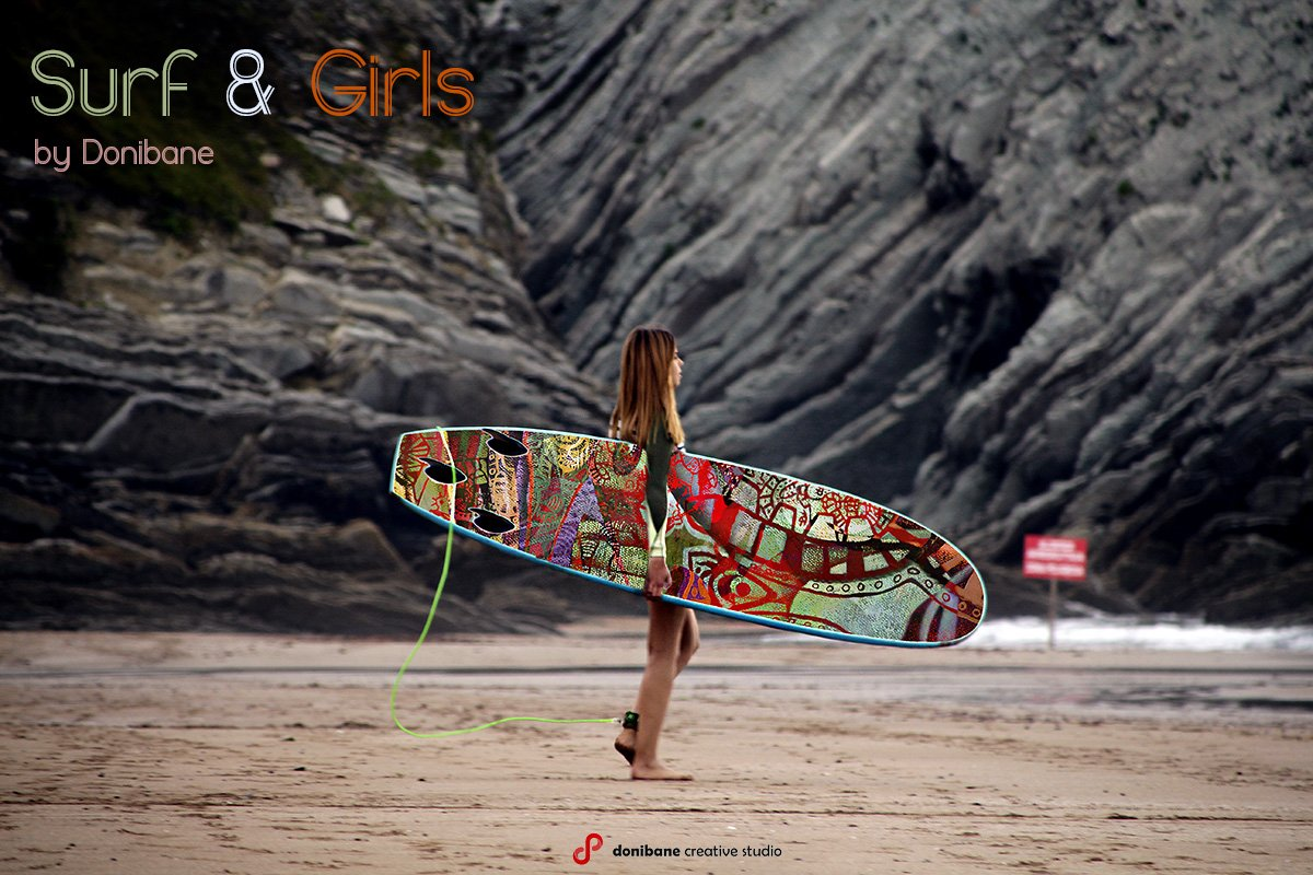 Surf and Girls by Donibane. Designing Surfboards.