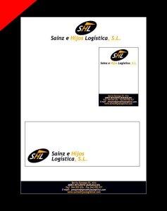 Logotipo para Sainz e Hijos Logística por Donibane