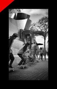 Skate fotografia Donibane