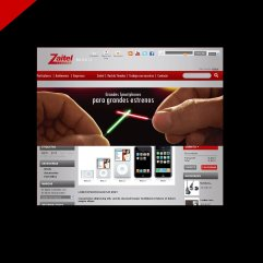 Diseño de Sitio Web para Zaitel por Donibane
