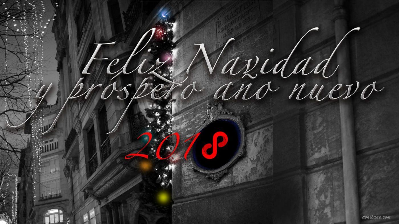 Carátula Tarjeta Felicitación de Navidad de Donibane