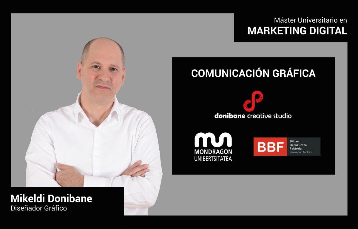 Comunicación Gráfica en el Master de Marketing Digital de MONDRAGON UNIBERTSITATEA