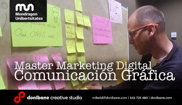 Master Marketing Digital Comunicación Gráfica Donibane