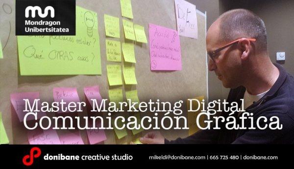 Master Marketing Digital Comunicación Gráfica Donibane