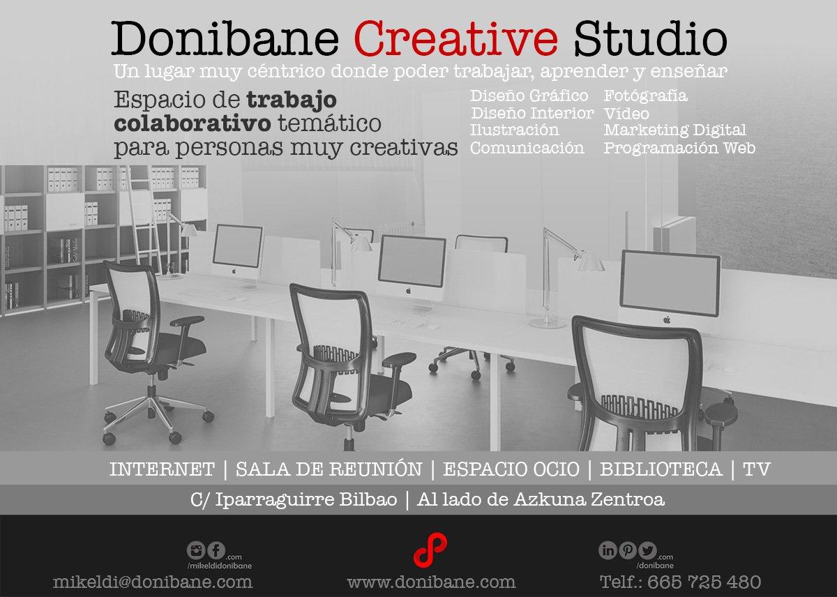Donibane Creative Studio un espacio de trabajo colaborativo temático en Bilbao