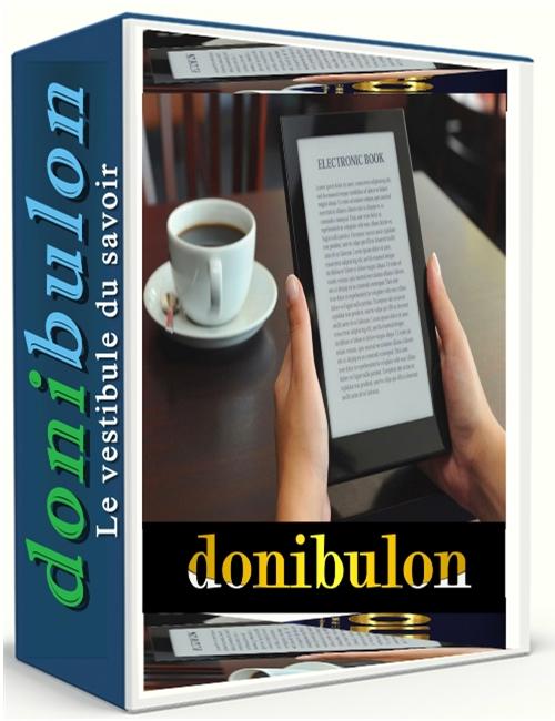 Couverture donibulon – Format 500X600