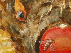 """Echinus"" - DETAIL 1, oil on canvas - 44 x 62 cm, 2007"