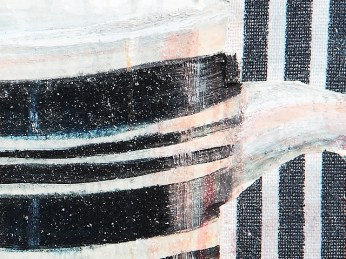 """Tea I"" - DETAIL 1, oil on canvas - 25 x 35 cm, 2007"