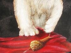 """""""Sugar"""" - DETAIL 4, oil on canvas - 60 x 50 cm, 2010"""