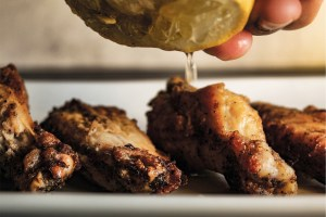 Zesty Lemon Pepper Wings