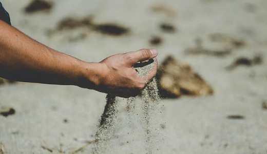 無類の砂粒