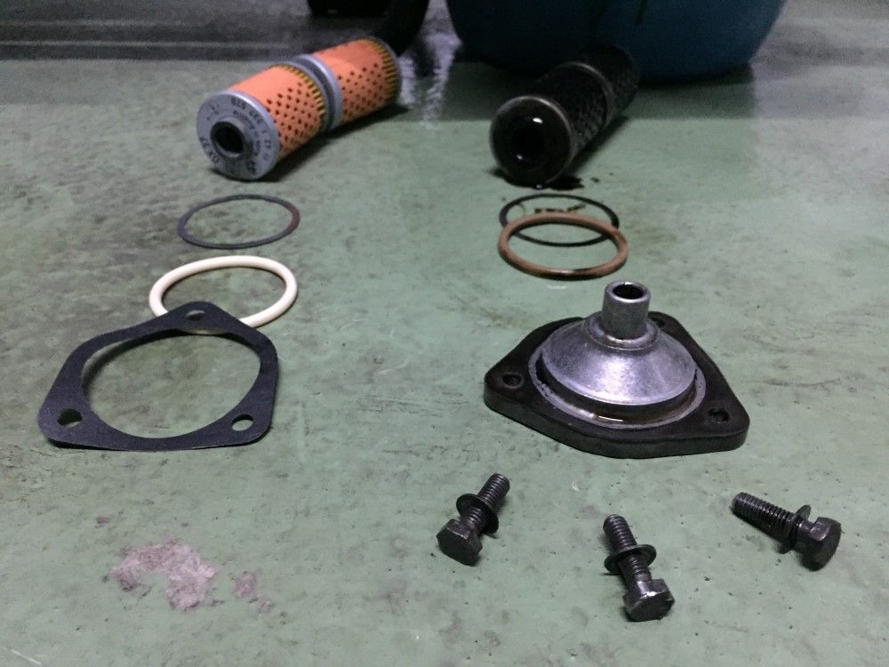 Cambiar filtro aceite BMW R45