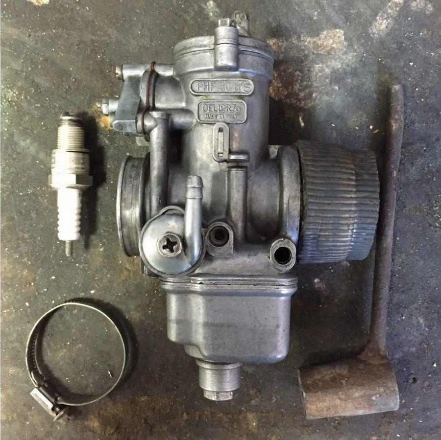 Restauración carburador Ducati Forza