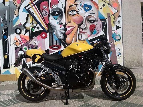 Homologación Suzuki bandit 650