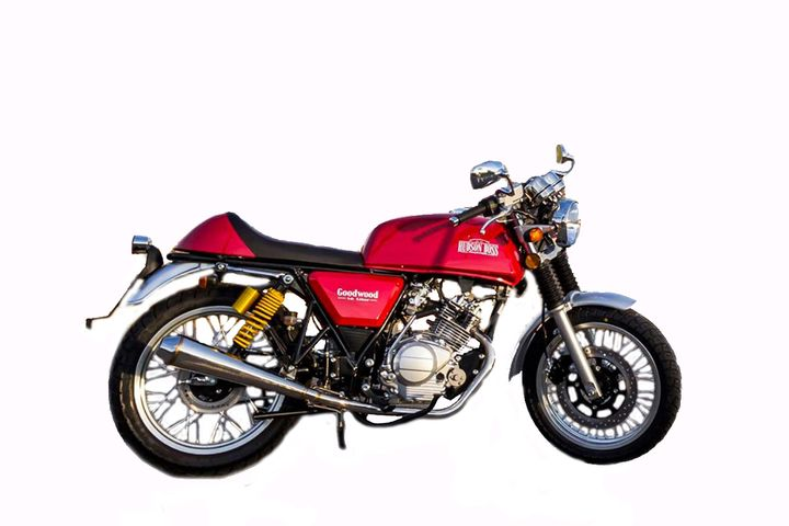 Hudson-Boss Goodwood 1-8 Liter Standard. Cafe Racer Barata 125