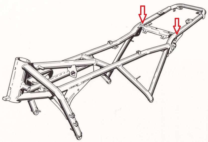 Cortar Chasis BMW K100