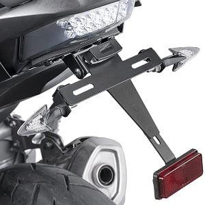 Portamatrículas moto