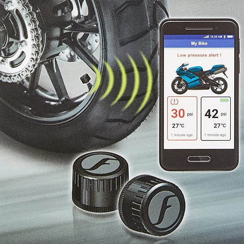 APP medida presión neumáticos moto