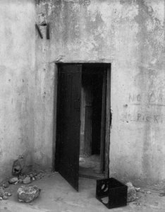 81008 Jail Doorway,Rhyolite, NV 1981