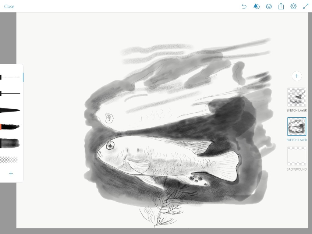 Adobe Sketch Screenshot