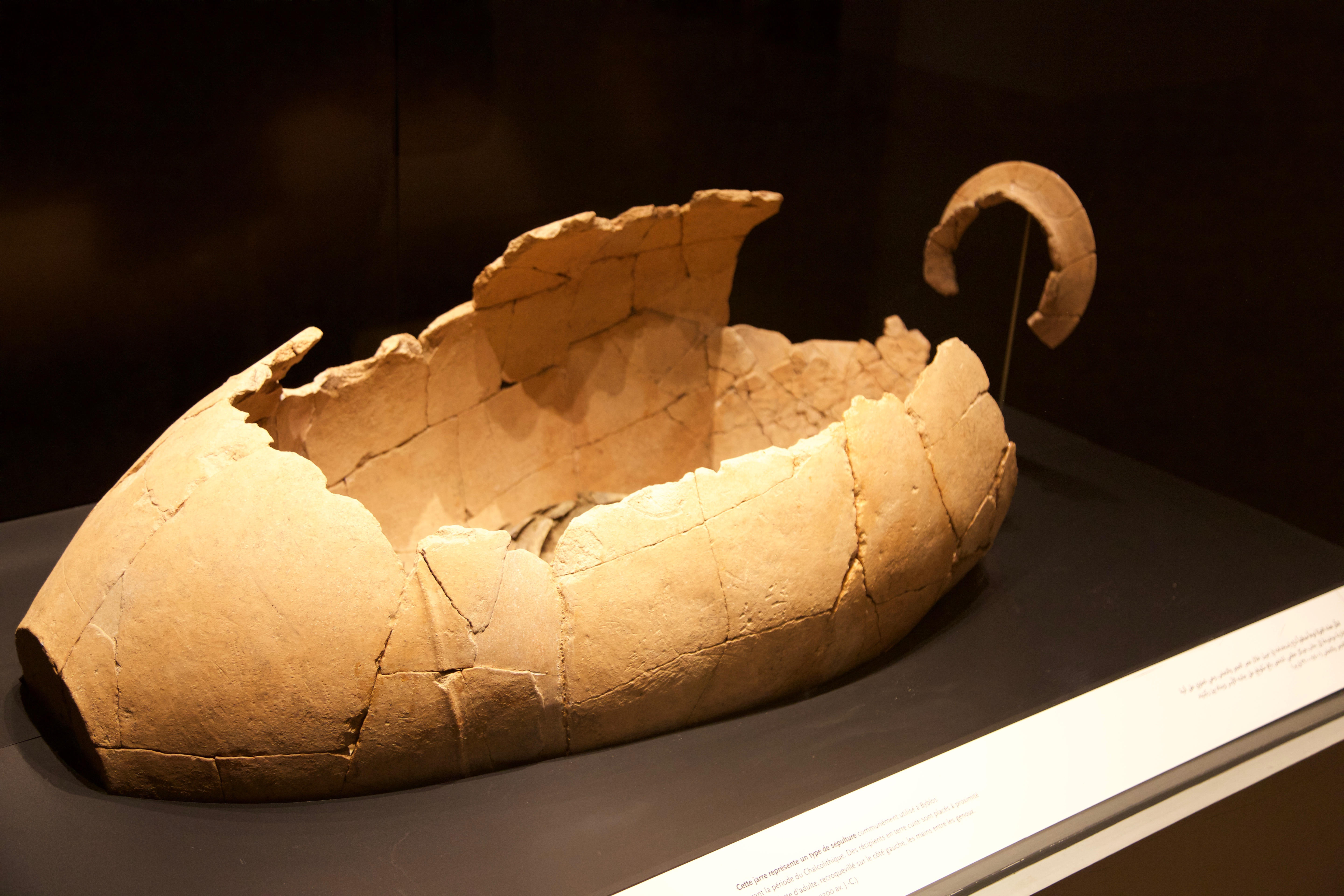 Chalcolithic burial National Museum of Beirut Don Michael Hudson, PhD Beirut, Lebanon