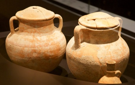 Cremation urns--Iron Age National Museum of Beirut Don Michael Hudson, PhD Beirut, Lebanon