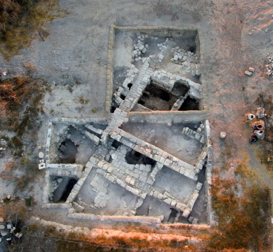 Aerial view of area B, photo by Eli Gershtein.