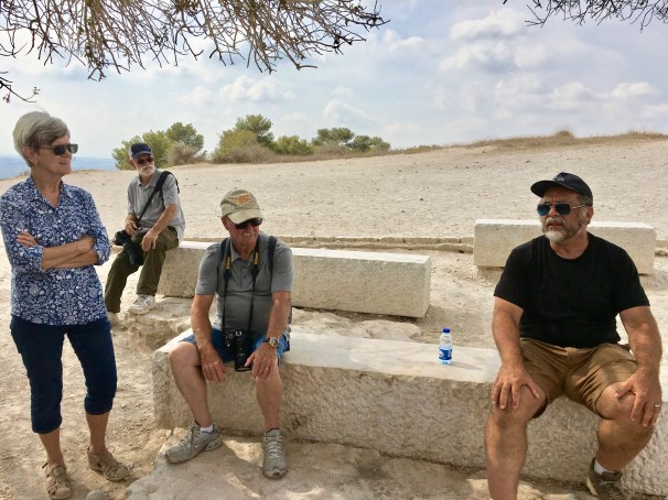 Tel Azekah, Israel Palestine October 2018 Don Michael Hudson, PhD
