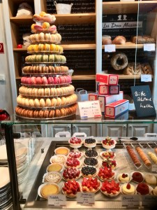 Don Michael Hudson and Christina Hudson visit their favorite French bakery in Wiesbaden, Germany.