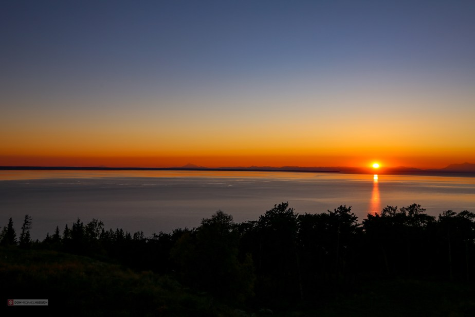 Sunset Over Cook Inlet, Anchorage, AK (Aug 21)