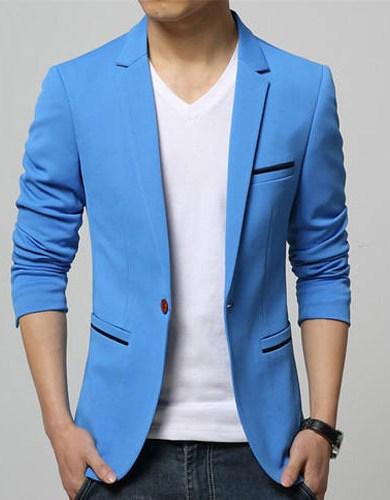 Turquoise blue Blazer