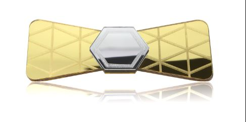 NY GOLD GLASS SPECIAL EDITION BOW TIE