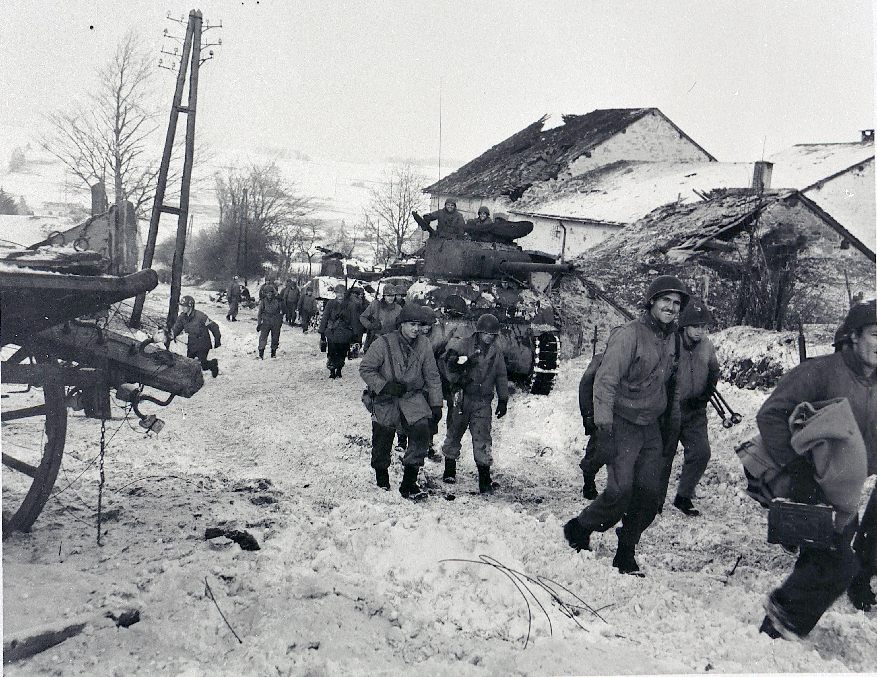 They Faced The 6th Panzer Army At St Vith Ed Deluka And