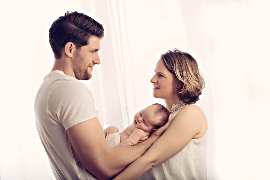 Natuerliche Babyfotografie
