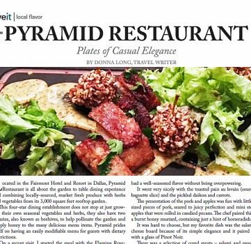 Pyramid Restaurant: Plates of Casual Elegance – LiveIt Texas
