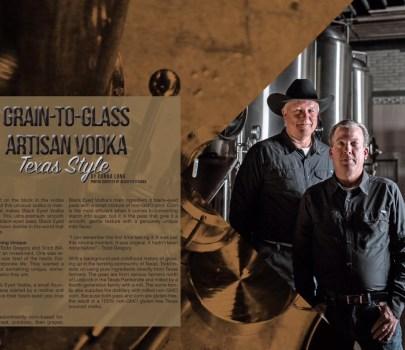 Grain-to-glass Artisan Vodka: Texas Style – Links and Libations