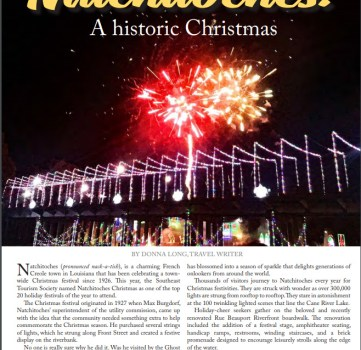 Natchitoches: A Historic Christmas -LiveIt Texas