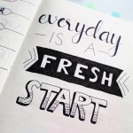 inspirational quotes on a planner