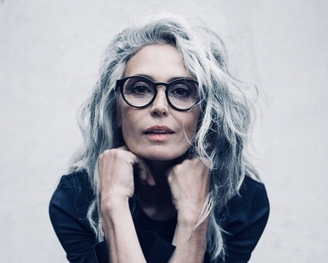 It's time/ aging/ getting older/ mature woman/grey hair woman/ mother natire