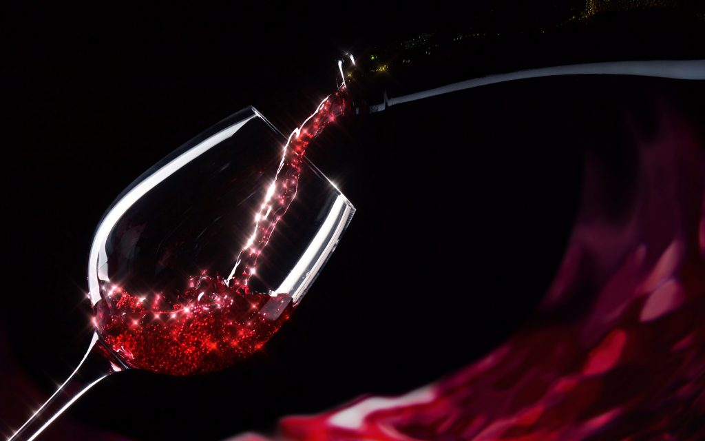 Drinking wine is good for your teeth and gums