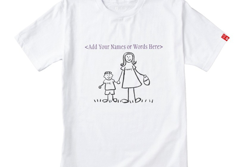 Mommy and Me Mother and Son Custom Family Drawing Gifts Merchandise
