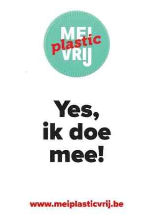 Mei plastic vrij, Yes ik doe mee!