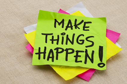 Make Things Happen - Life Coaching