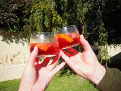 Three Campari Cocktails