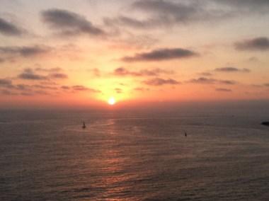 Sunset in Redondo Beach, California