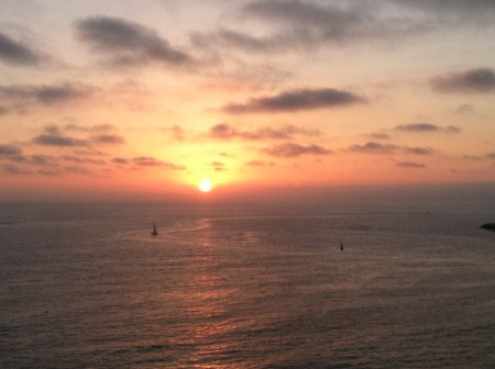 Sunset in Redondo Beach, California