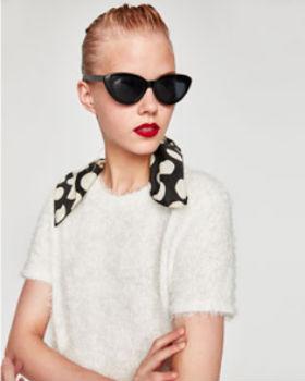 faux fur tee shirt