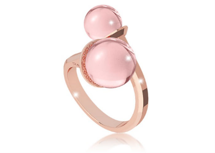 Rebecca rose gold ring